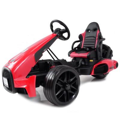 Детский электромобиль Go Kart Red 12V - CH9939
