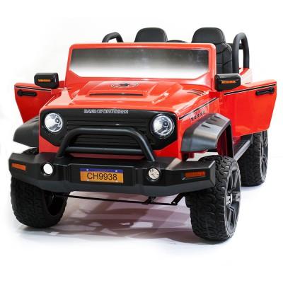 Детский электромобиль Jeep Hunter Red с полным приводом - CH9938-RED