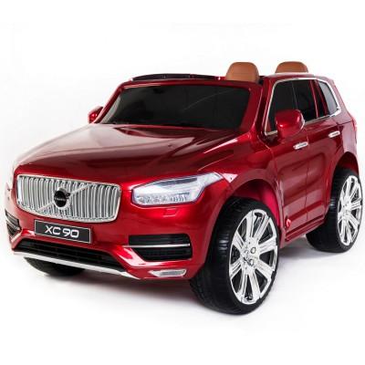 Детский электромобиль Dake Volvo XC90 Wine Red 12V 2.4G - XC90-RED