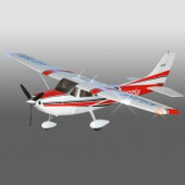 Радиоуправляемый самолет Art-tech Cessna 182 Brushless 500 Class EPO - 2.4G