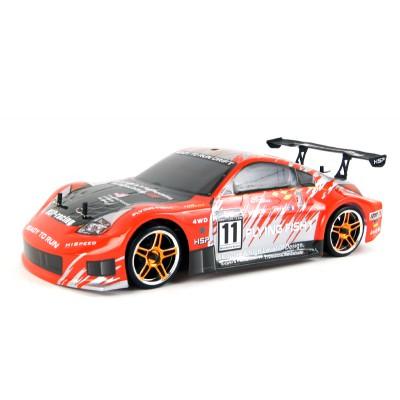 Радиоуправляемый автомобиль для дрифта с ДВС HSP 4WD XSTR Power Drift Car 1:10 - 94122D - 2.4G