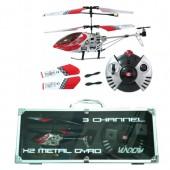 Радиоуправляемый вертолет V-max GYRO - 6020-1 Alu Case