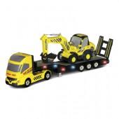 Радиоуправляемый грузовик и экскаватор - QY0231B