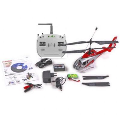 Радиоуправляемый вертолет E-sky EC-130 Hunter 2.4G - 003740