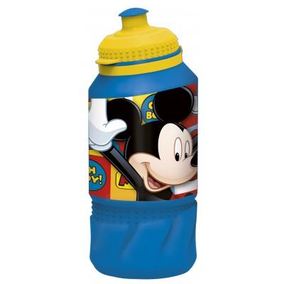 Бутылка пластиковая (спортивная 420 мл). Микки Маус Символы
