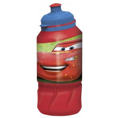 Бутылка пластиковая (спортивная 420 мл). Тачки Грани гонок