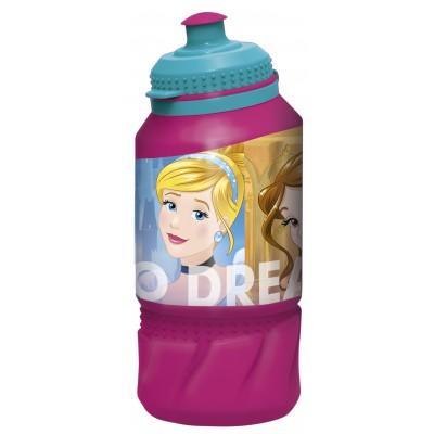 Бутылка пластиковая (спортивная 420 мл). Принцессы Дружные приключения