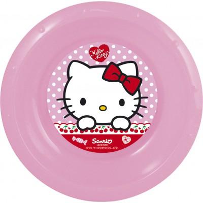 Миска пластиковая. Hello Kitty