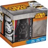 Кружка керамическая в подарочной упаковке (325 мл). Звёздные войны Четыре персонажа