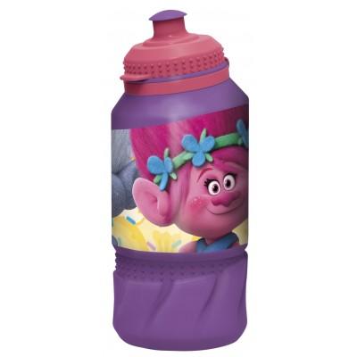 Бутылка пластиковая (спортивная 420 мл). Тролли