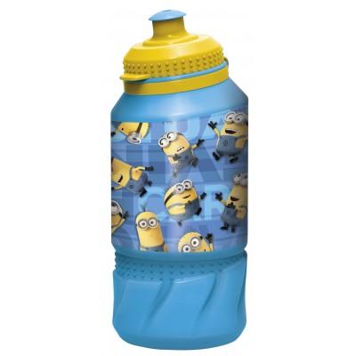 Бутылка пластиковая (спортивная 420 мл). Миньоны Правила